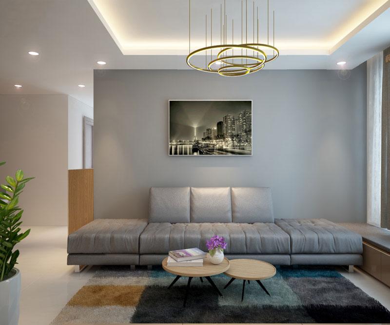 thiết kế nội thất chung cư hiện đại 75 mét vuông3