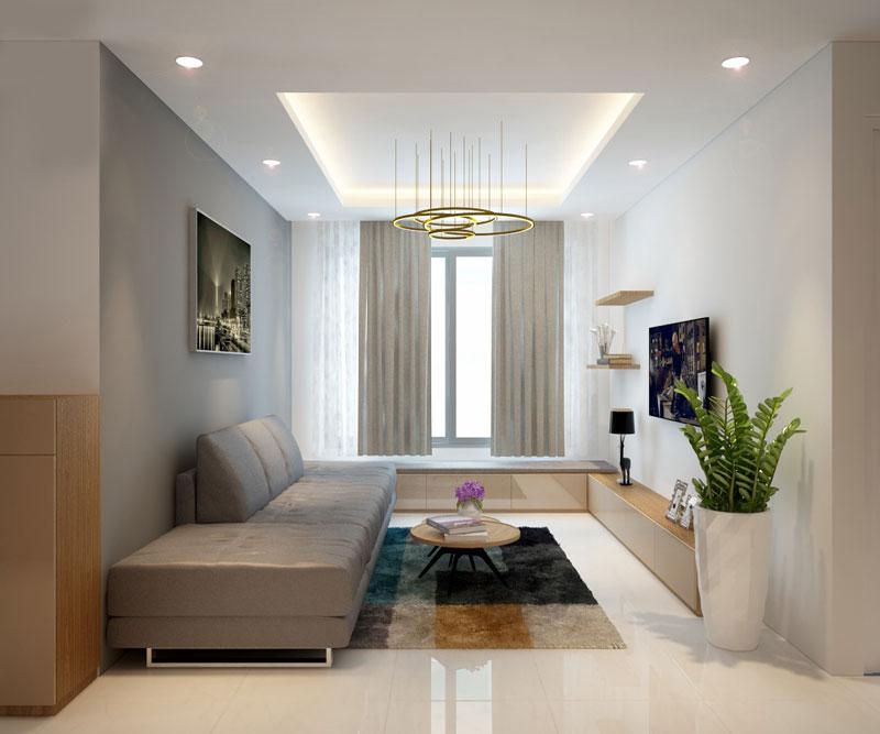 thiết kế nội thất chung cư hiện đại 75 mét vuông5