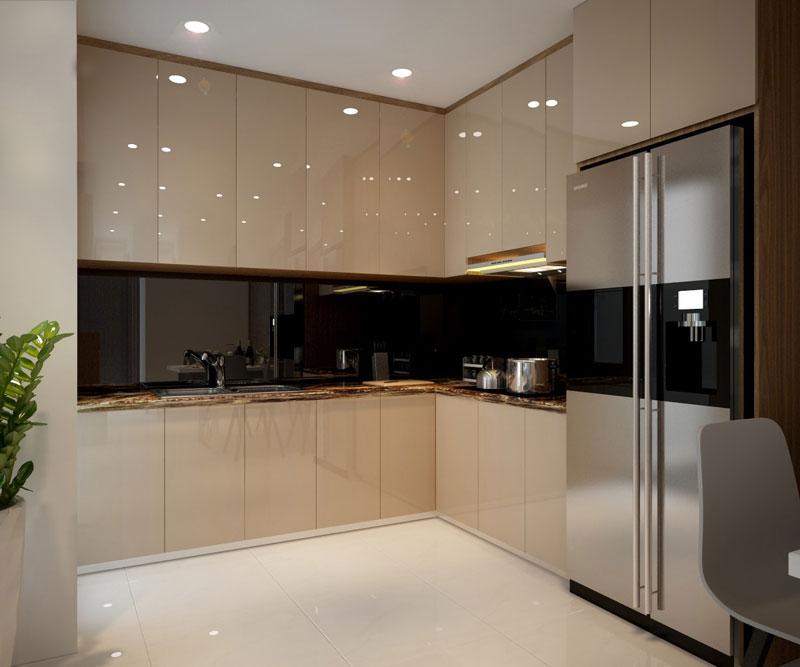thiết kế nội thất chung cư hiện đại 75 mét vuông6