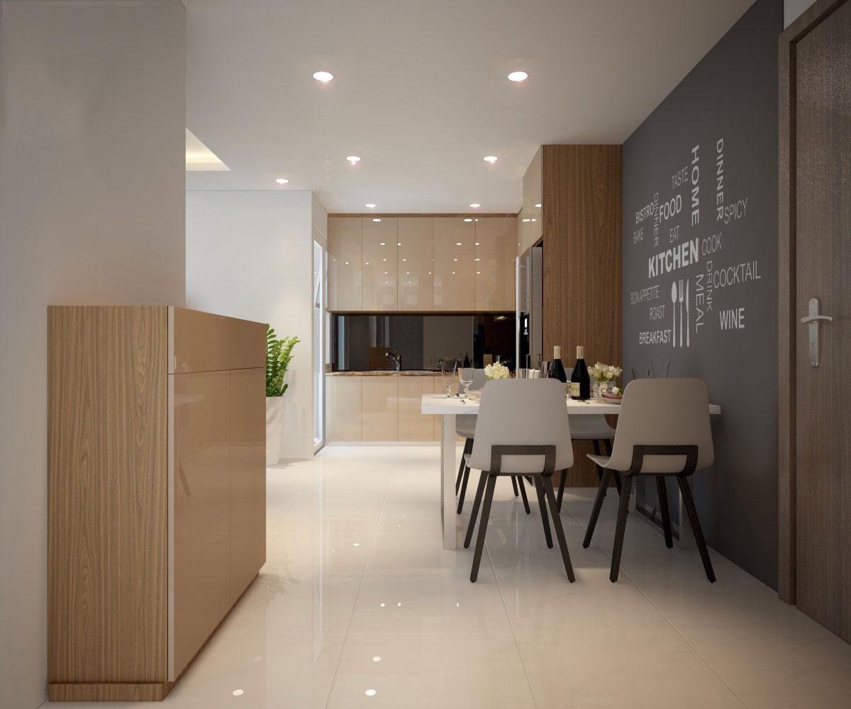 thiết kế nội thất chung cư hiện đại 75 mét vuông7