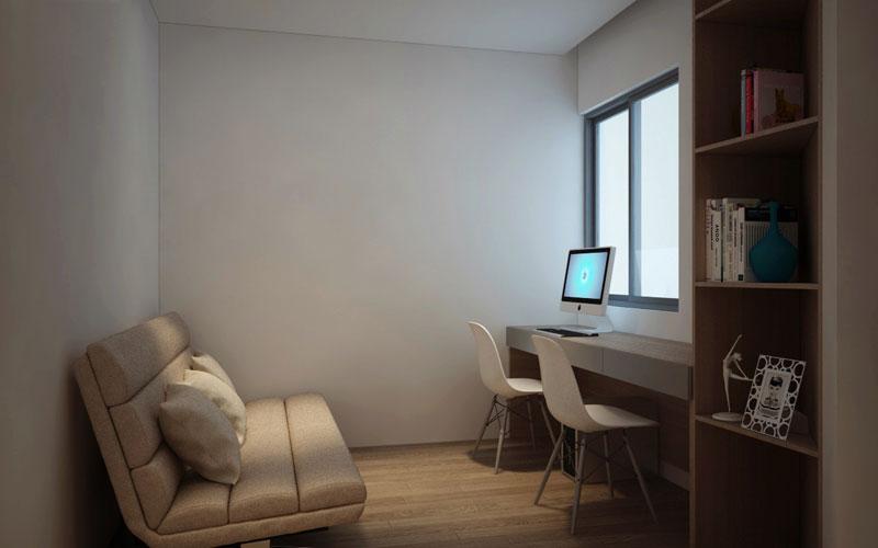 thiết kế nội thất chung cư hiện đại 75 mét vuông8