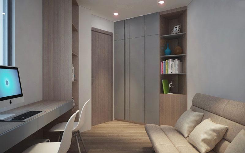 thiết kế nội thất chung cư hiện đại 75 mét vuông9