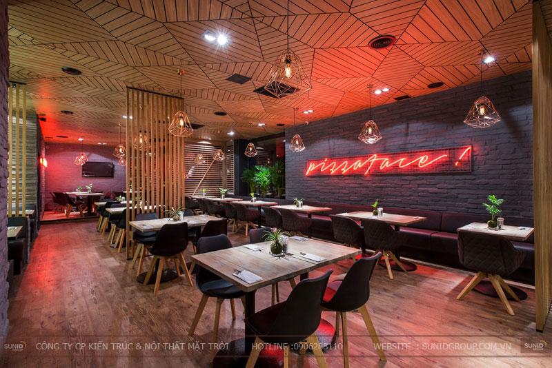 thiết kế nhà hàng thức ăn nhanh cafe 10