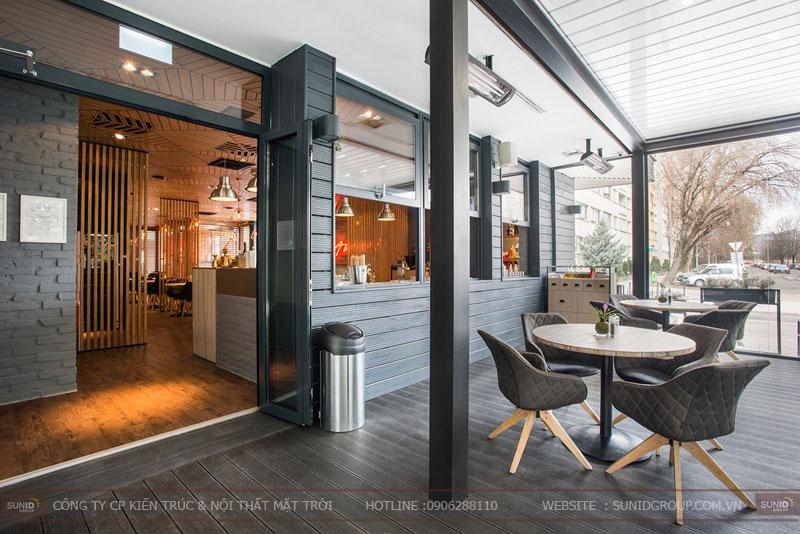 thiết kế nhà hàng thức ăn nhanh cafe 11