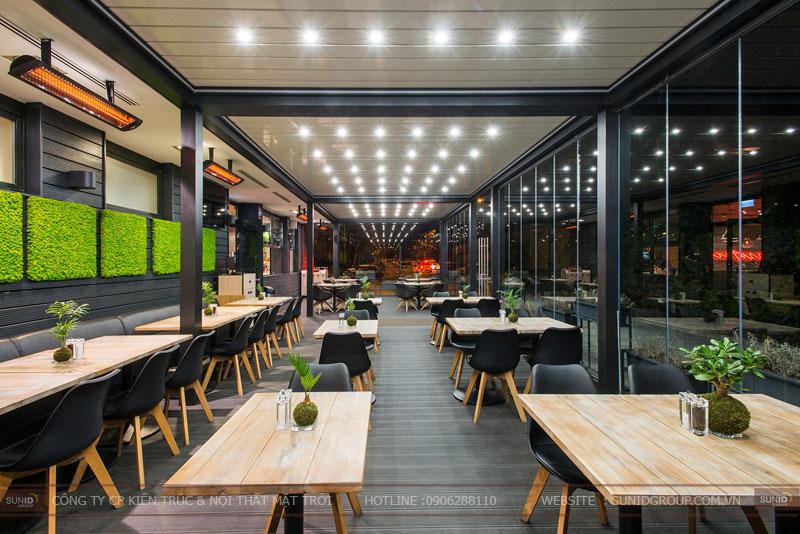 thiết kế nhà hàng thức ăn nhanh cafe 13