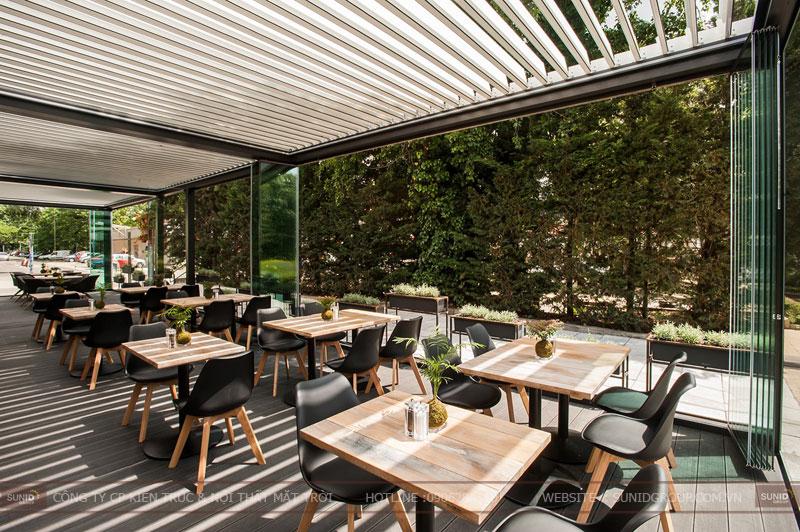 thiết kế nhà hàng thức ăn nhanh cafe 15