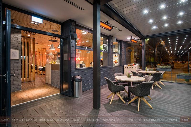 thiết kế nhà hàng thức ăn nhanh cafe 17