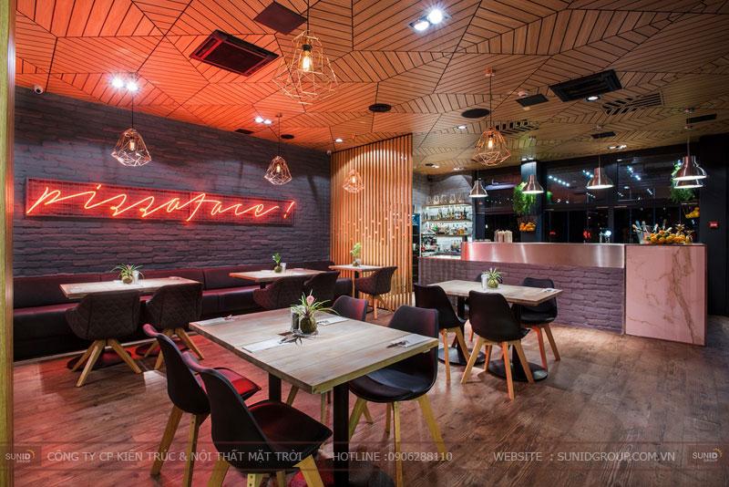 thiết kế nhà hàng thức ăn nhanh cafe 18
