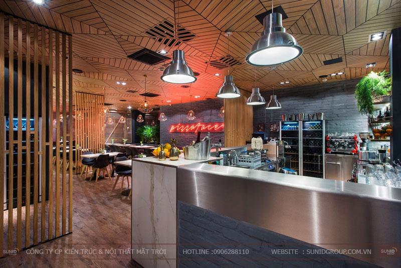 thiết kế nhà hàng thức ăn nhanh cafe 26