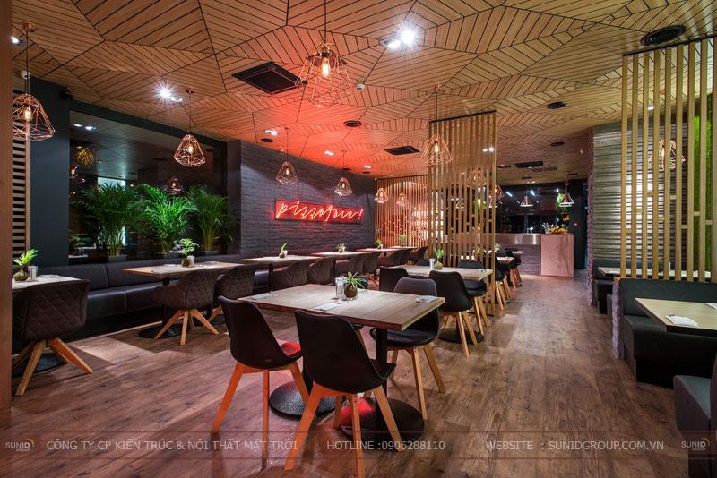 thiết kế nhà hàng thức ăn nhanh cafe 3