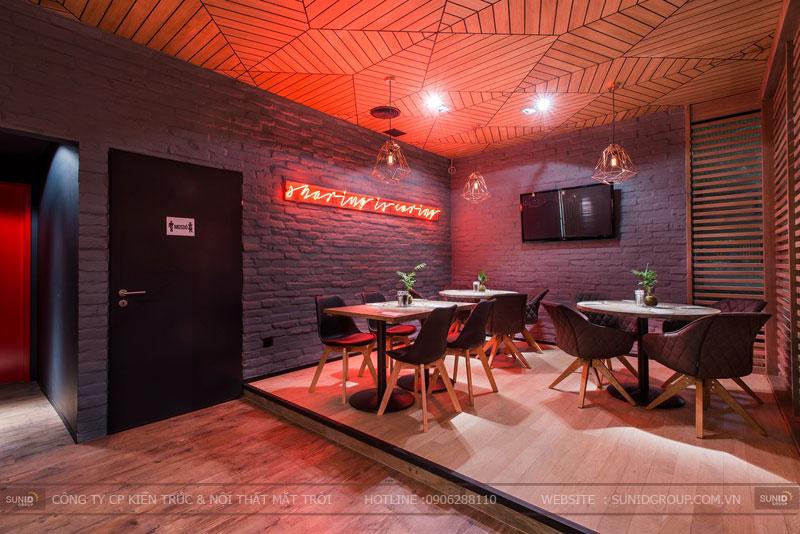 thiết kế nhà hàng thức ăn nhanh cafe 5