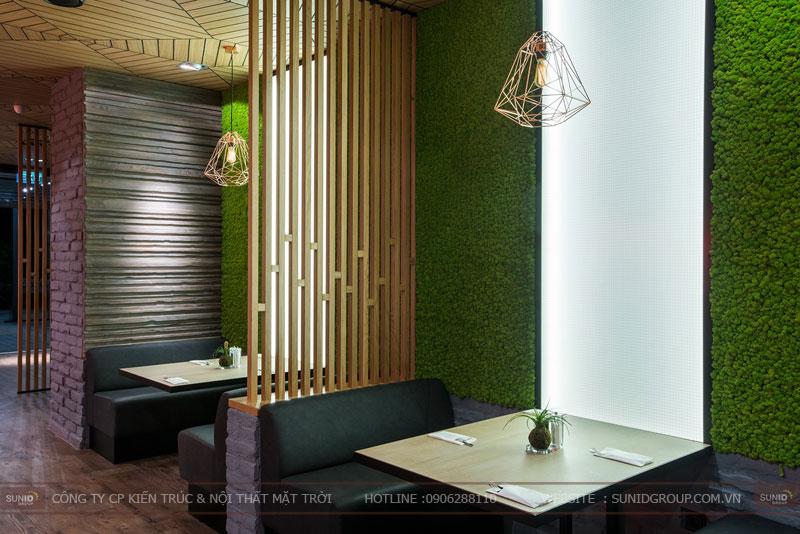 thiết kế nhà hàng thức ăn nhanh cafe 6
