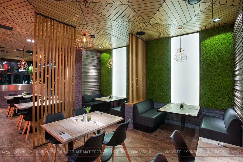 thiết kế nhà hàng thức ăn nhanh cafe 7