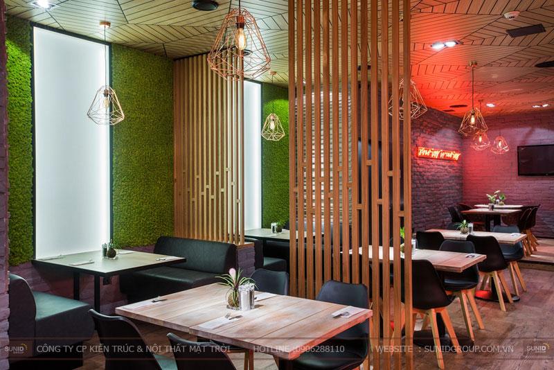 thiết kế nhà hàng thức ăn nhanh cafe 8
