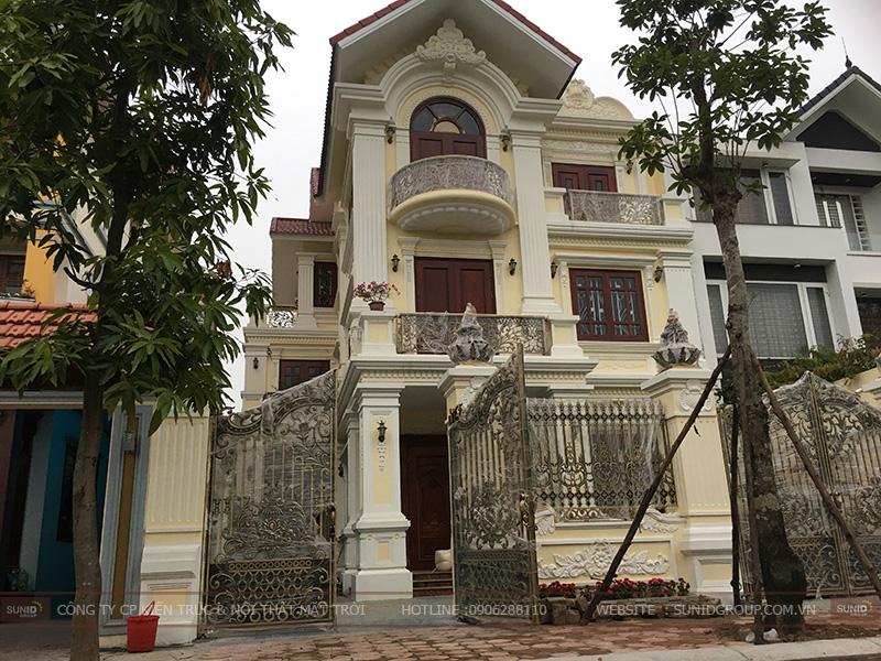 Hoàn thiện biệt thự xây thô liền kề tại KĐT Linh Đàm