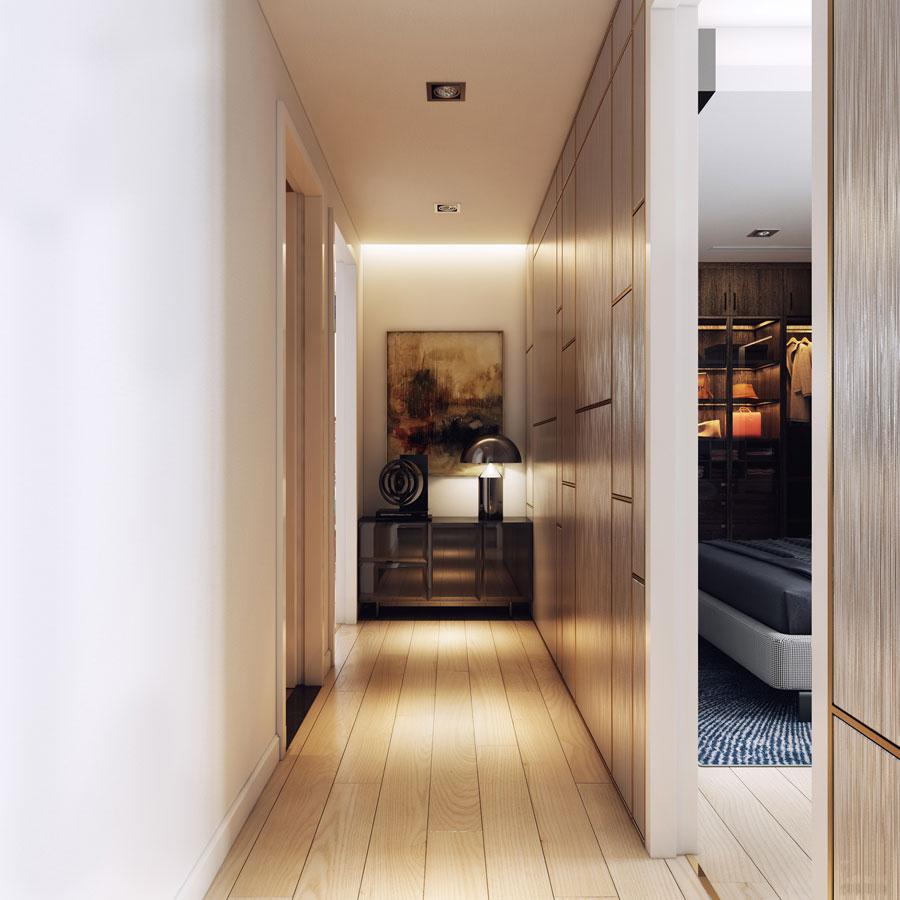 thiết kế nội thất chung cư 50 mét vuông 2 phòng ngủ ảnh 3