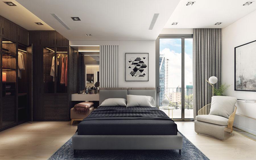 thiết kế nội thất chung cư 50 mét vuông 2 phòng ngủ ảnh 5