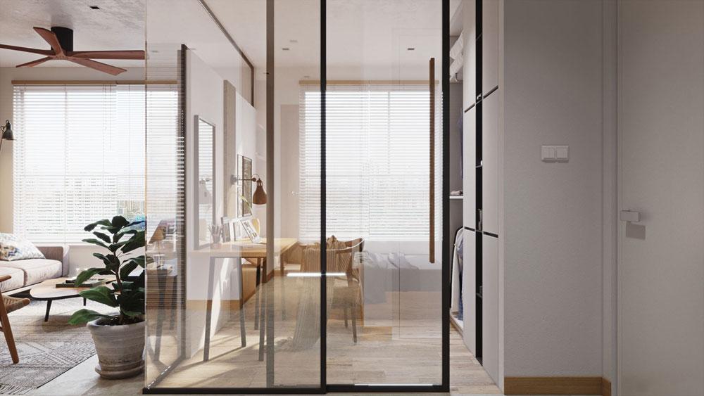 thiết kế nội thất chung cư Imperial Plaza1
