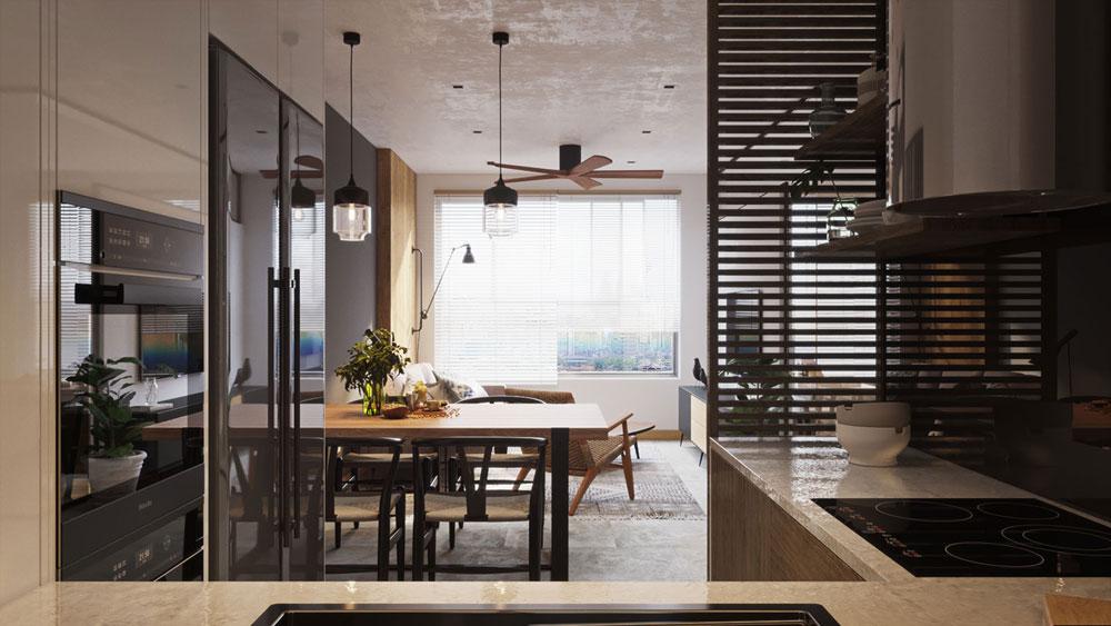 thiết kế nội thất chung cư Imperial Plaza10