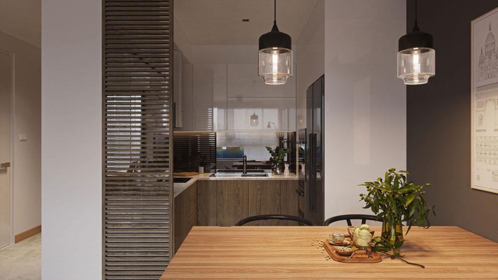 thiết kế nội thất chung cư Imperial Plaza12