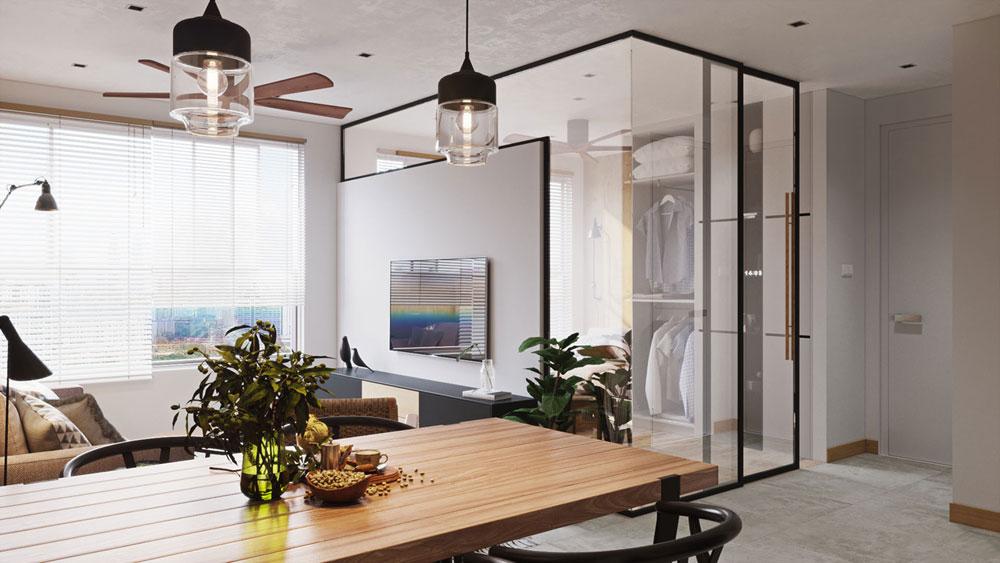 thiết kế nội thất chung cư Imperial Plaza13