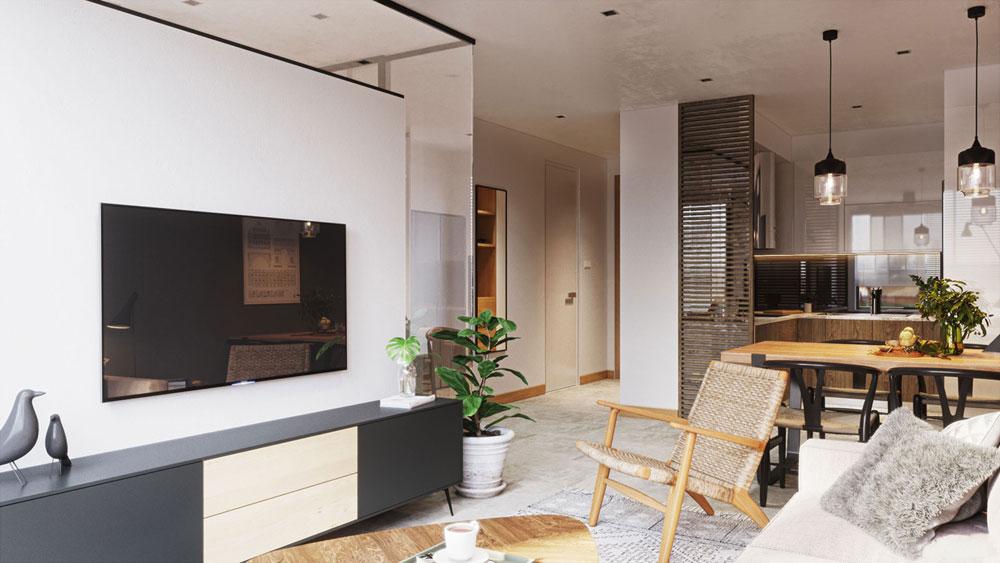 thiết kế nội thất chung cư Imperial Plaza14