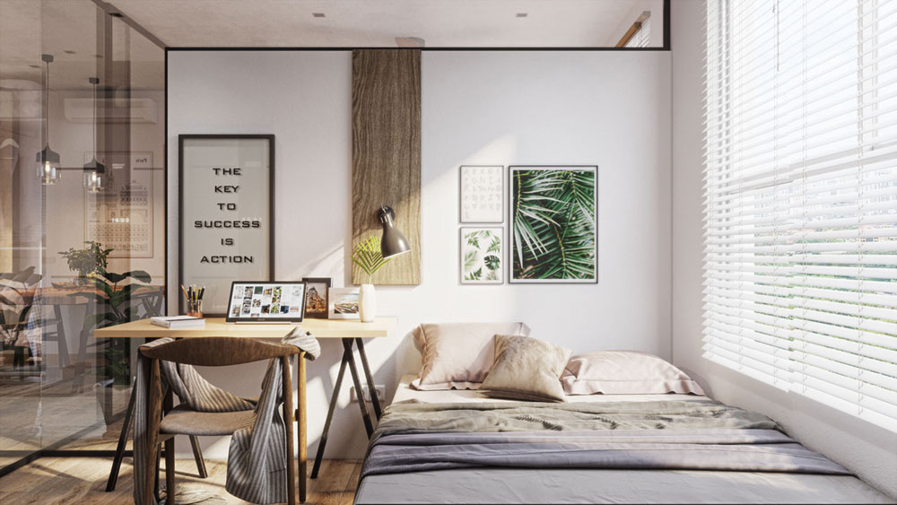 thiết kế nội thất chung cư Imperial Plaza4