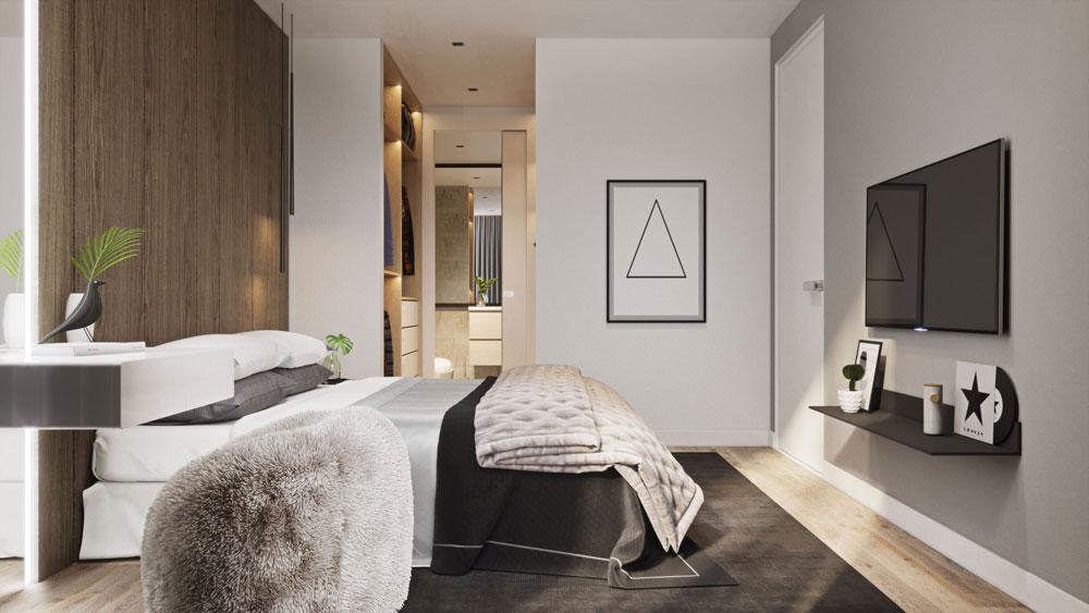 thiết kế nội thất chung cư Imperial Plaza6