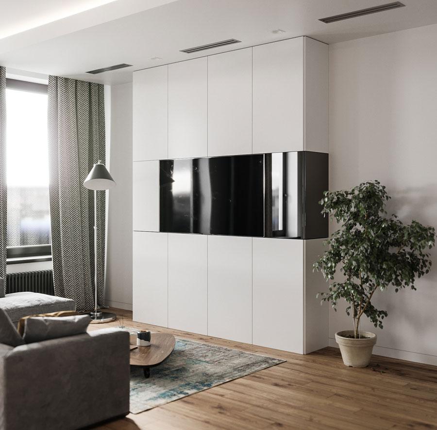 Thiết kế nội thất chung cư Anland complex