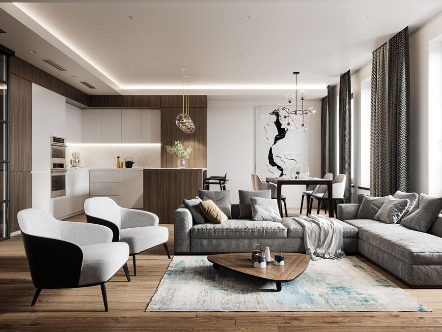 Thiết kế nội thất chung cư Anland complex 21