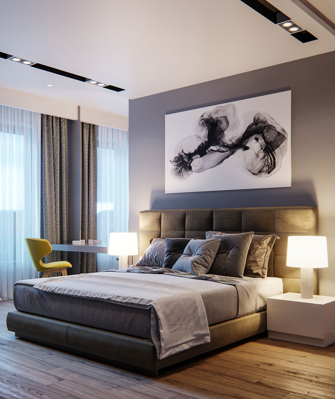 Thiết kế nội thất chung cư Anland complex 3