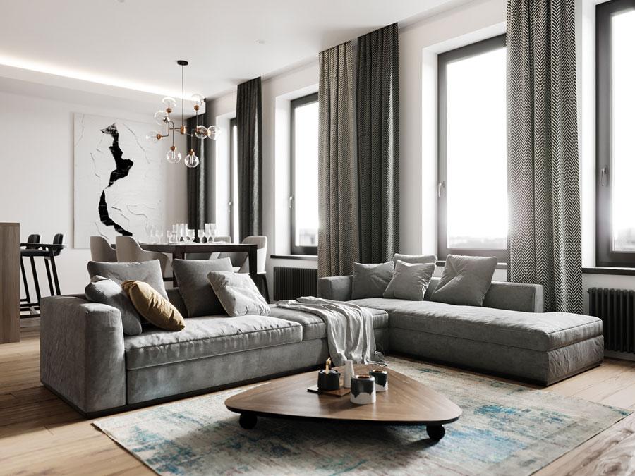 Thiết kế nội thất chung cư Anland Complex hiện đại
