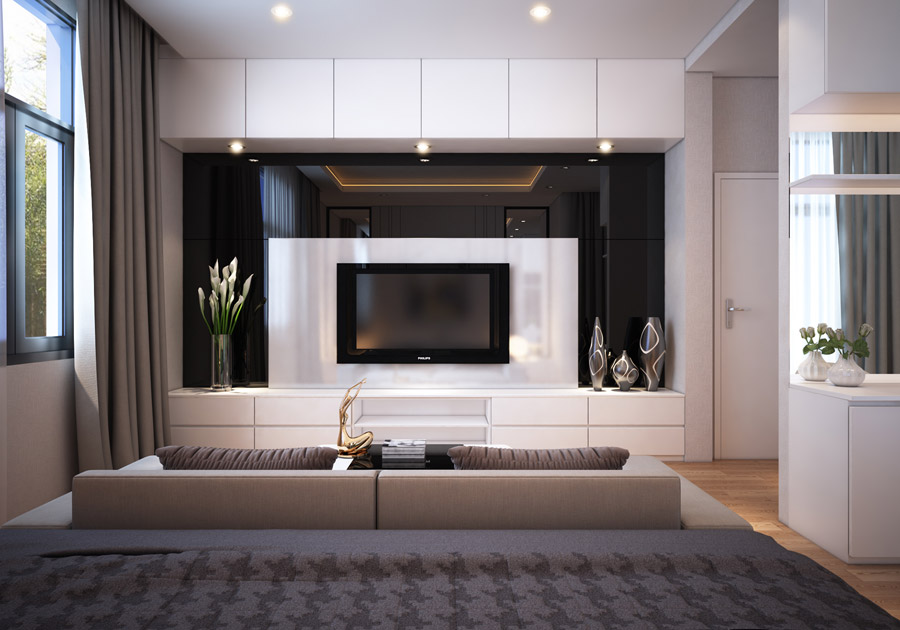 Thiết kế kiến trúc nhà phố 2 tầng 3 phòng ngủ ảnh 11