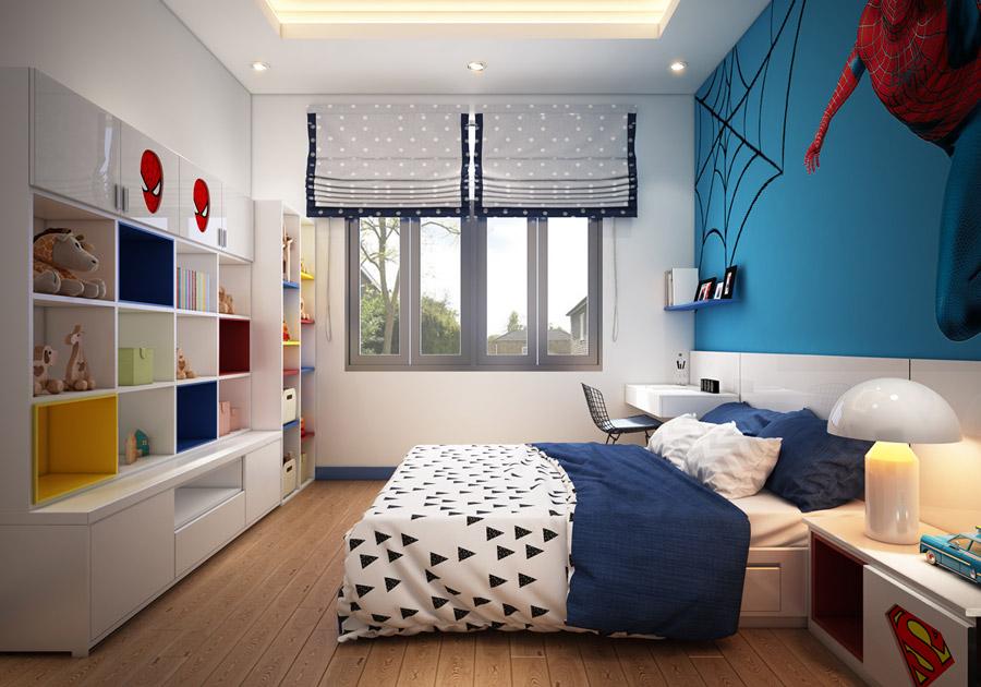Thiết kế kiến trúc nhà phố 2 tầng 3 phòng ngủ ảnh 13
