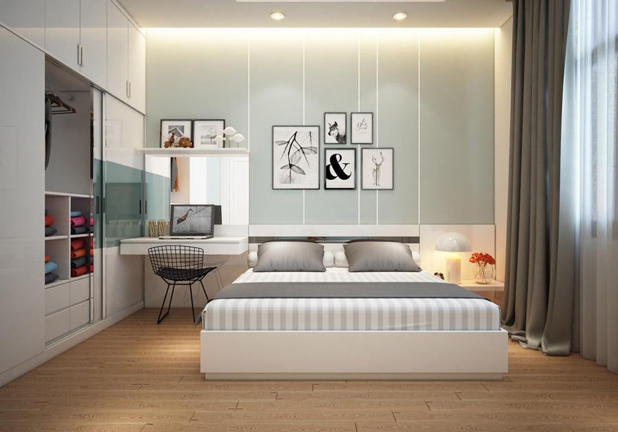 Thiết kế kiến trúc nhà phố 2 tầng 3 phòng ngủ ảnh 15
