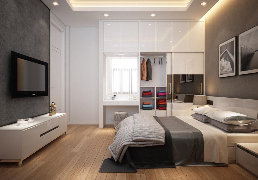 Thiết kế kiến trúc nhà phố 2 tầng 3 phòng ngủ ảnh 17