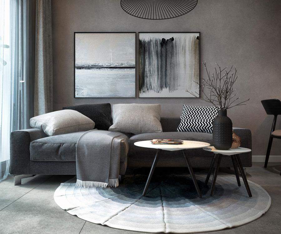 thiết kế nội thất chung cư 45 mét vuông ảnh 13
