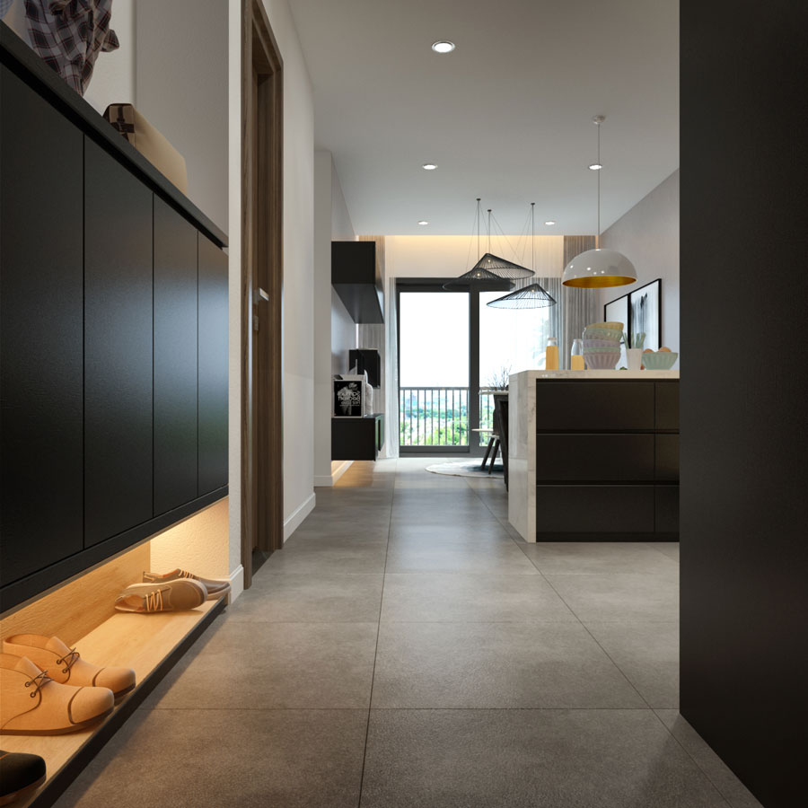 thiết kế nội thất chung cư 45 mét vuông ảnh 14