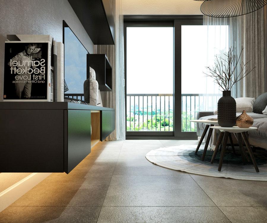 Thiết kế nội thất chung cư 45 mét vuông