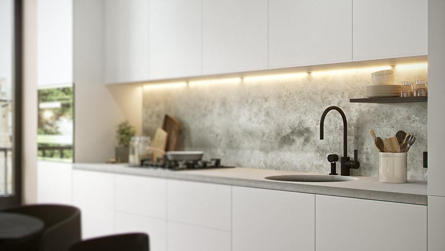 thiết kế nội thất chung cư 55 m2 hiện đại ảnh 10
