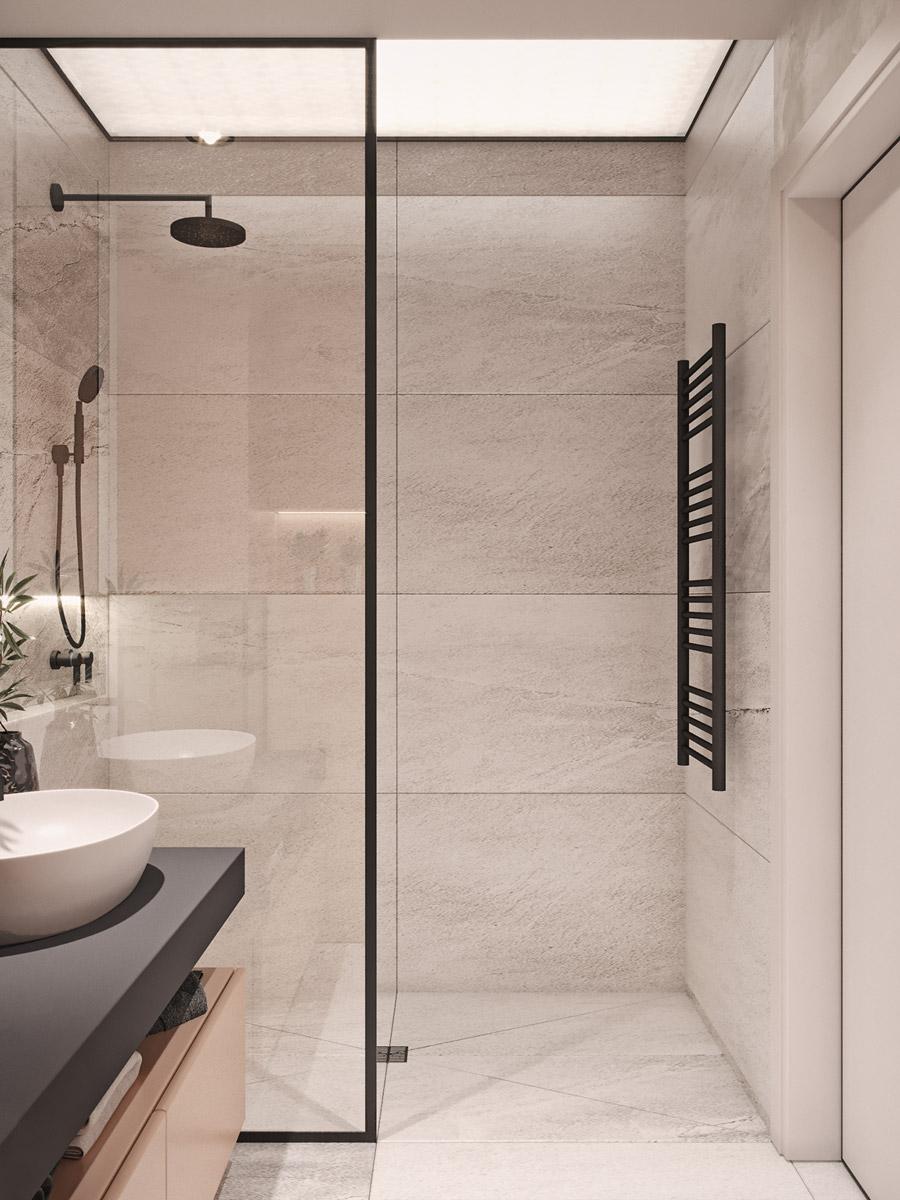 thiết kế nội thất chung cư 55 m2 hiện đại ảnh 11