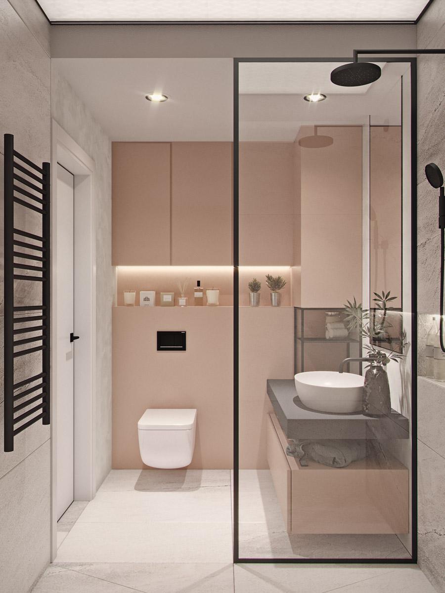 thiết kế nội thất chung cư 55 m2 hiện đại ảnh 12