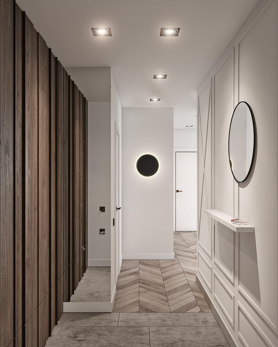 thiết kế nội thất chung cư 55 m2 hiện đại ảnh 2