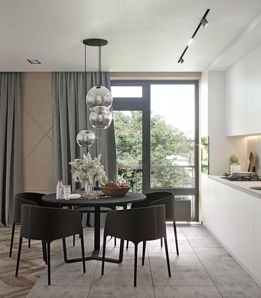 thiết kế nội thất chung cư 55 m2 hiện đại ảnh 6