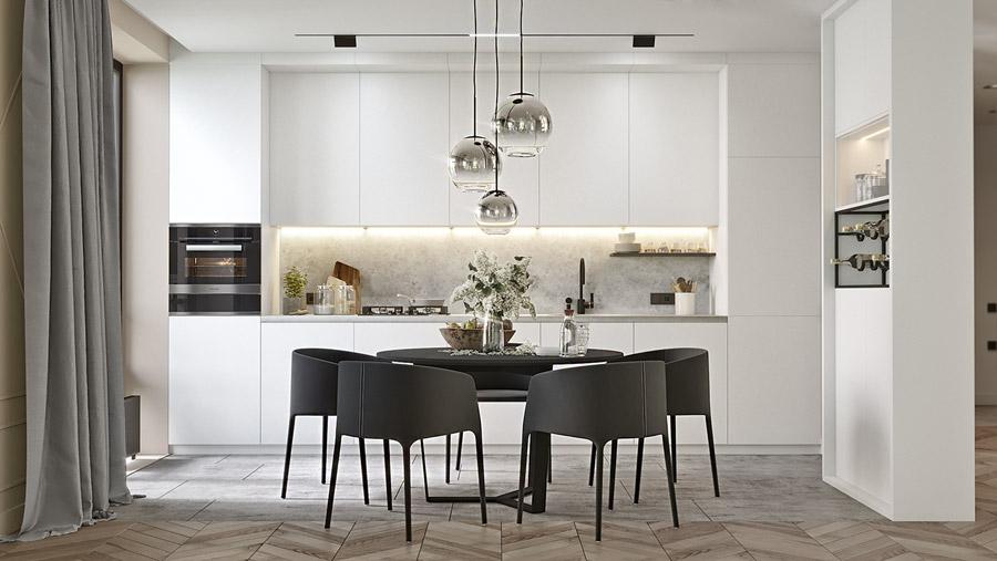 thiết kế nội thất chung cư 55 m2 hiện đại ảnh 7