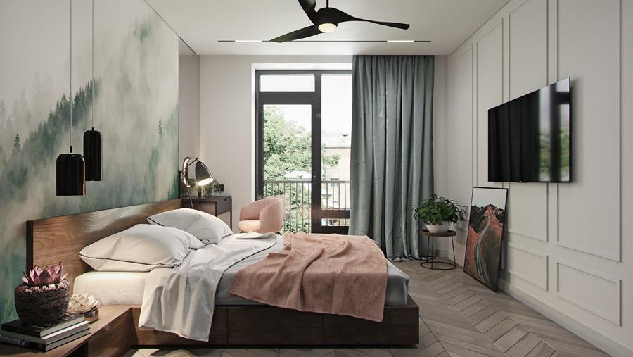 thiết kế nội thất chung cư 55 m2 hiện đại ảnh 8