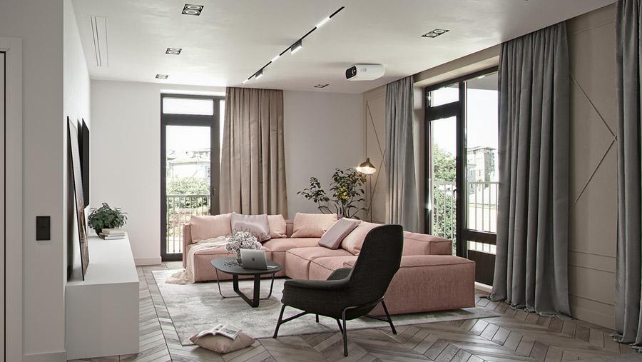 thiết kế nội thất chung cư 55 m2 hiện đại ảnh 9
