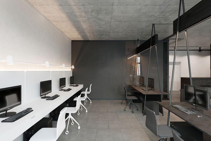 Thiết kế phòng làm việc 40 mét vuông