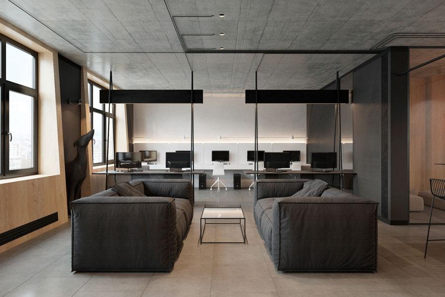 Thiết kế phòng làm việc 40 m2 ảnh 3