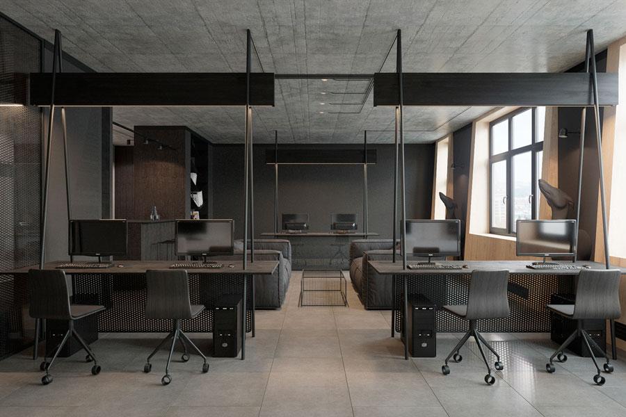 Thiết kế phòng làm việc 40 m2 ảnh 4